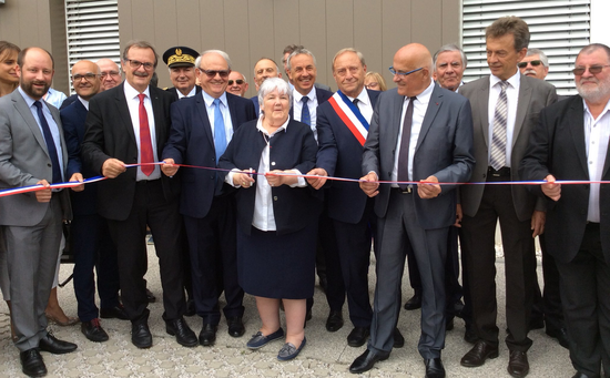 inauguration par Mme Gourault