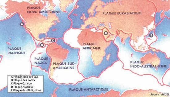 definition plaque lithospherique