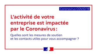 Coronavirus Covid19 - mesures d'aide aux entreprises